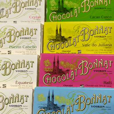 chocolats pour le the bonnat